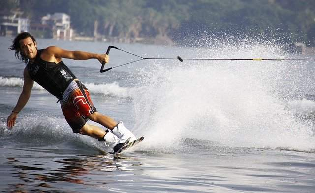 Wakeboarding is a high-speed water sport and injuries can happen.