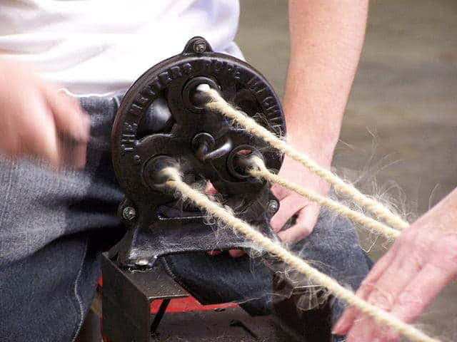A 1928 Metters Rope Making Machine