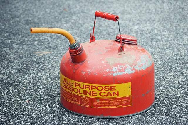 A petroleum jerry can is shown in this file photo.