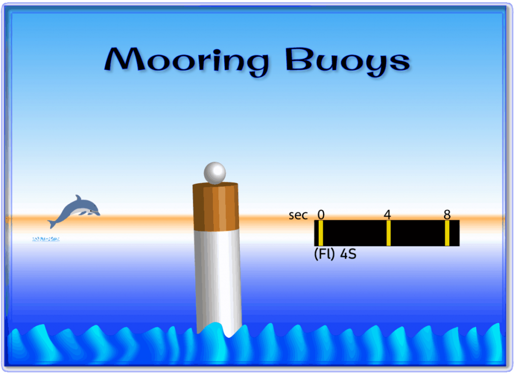 A Mooring buoy is shown in this file graphic.