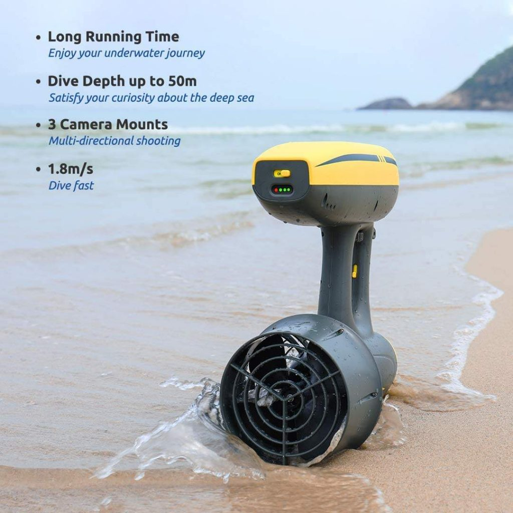 Jet Sea Scooter Extended Features