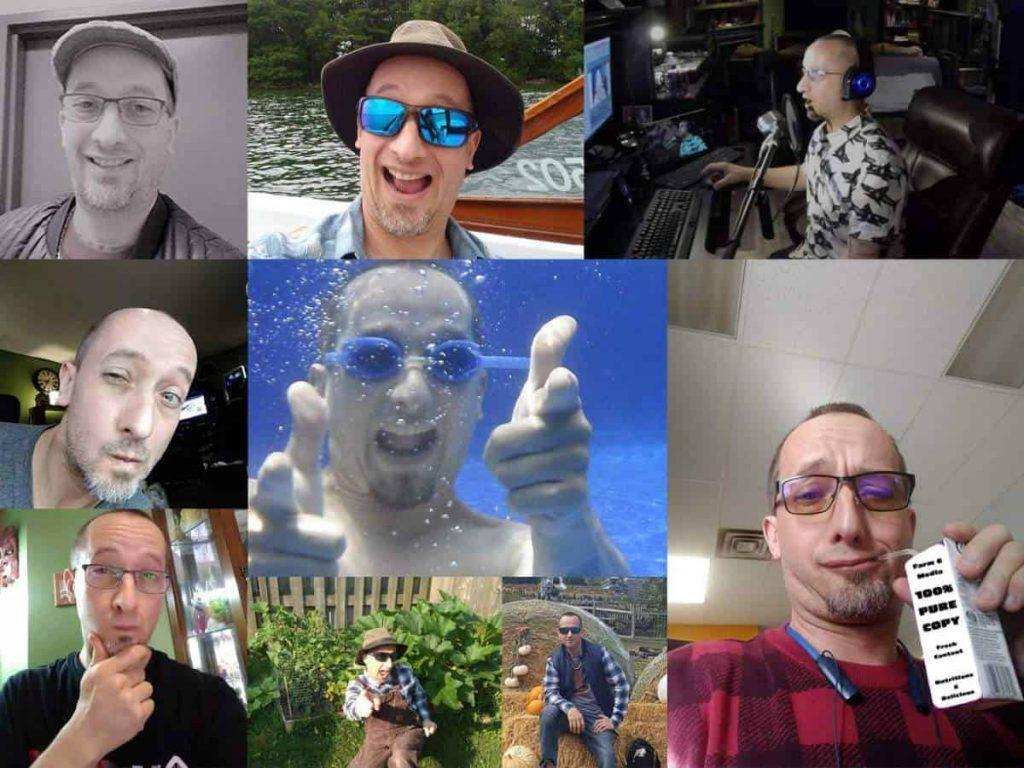 The many faces of Jeremy Shantz