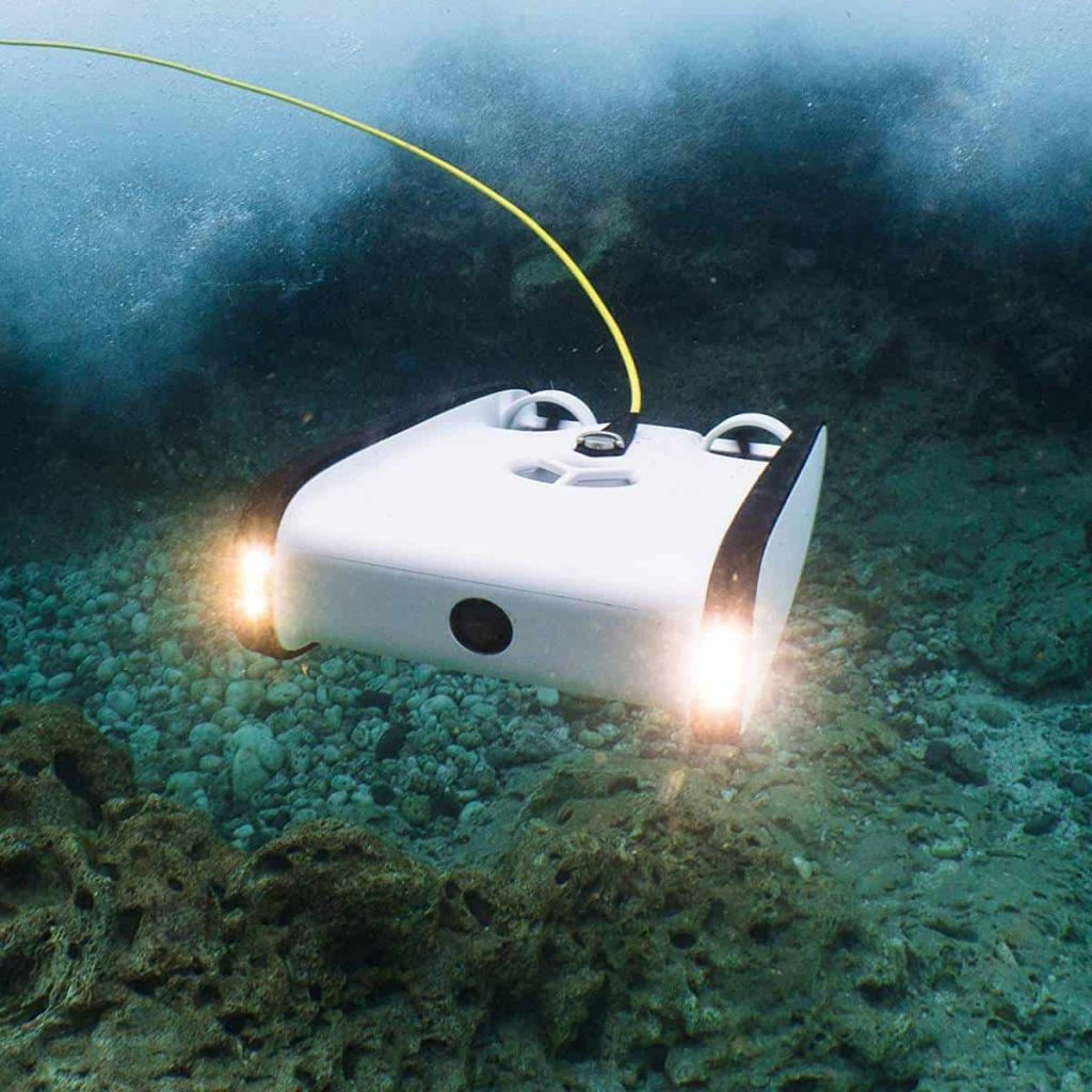 The Trident ROV - An underwater drone for all.