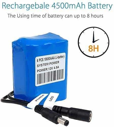 Eyoyo Fish Finder Battery