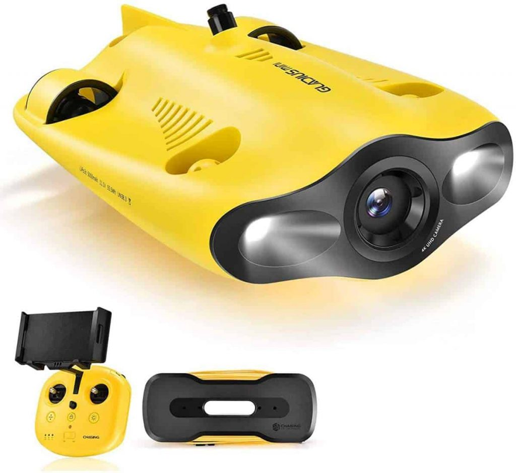 Gladius Mini Underwater Drone by Chasing