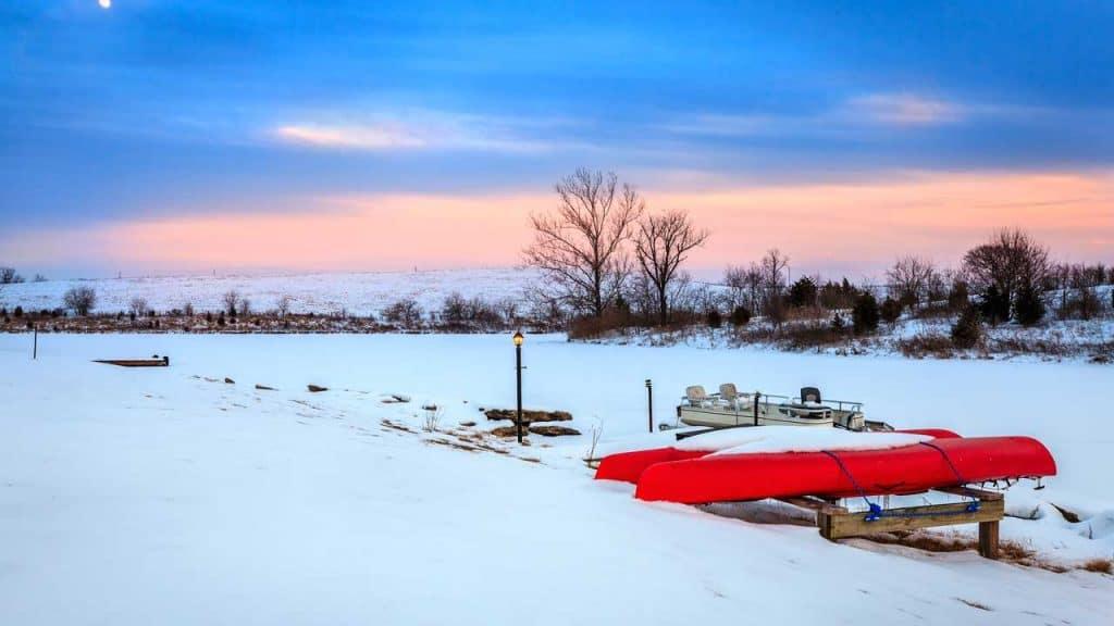 can snow damage kayak